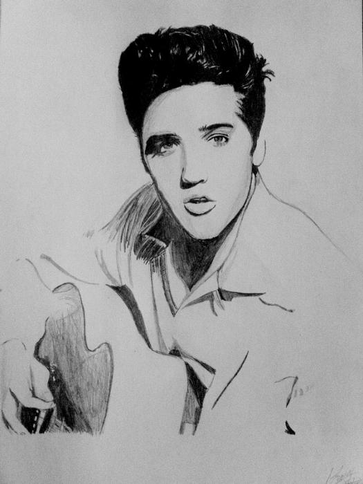 Elvis Presley by manonw08